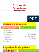 33. Grupos Exposición Martesmiercoles