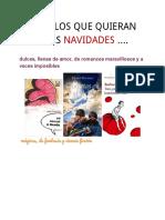 Recomend Ac i Ones Lecturas Parala Navidad