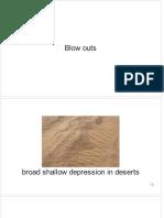 Erosional Seatures of Deserts