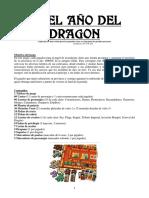 año del dragon reglas