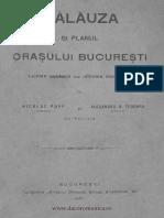 Călăuza Şi Planul Oraşului Bucureşti