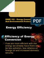 5. Energy Efficiency of Thermal Equipments