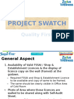 Project Swatch - Elaboration for CFA's - NL