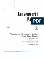 Fighting the Russians in Winter