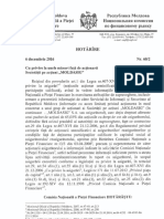 Decizie CNPF  6 decembrie