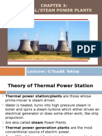 Thermal Power Generation Plant or Thermal Power Station