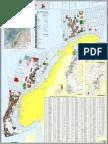 Map of Norwegian fields