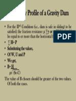 Gravity Dam 72