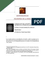 Comparación Del Concepto de Campo de Materia en La Teoría de La Relatividad, Física y La Idea Budista de Anatman