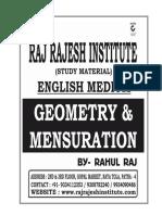 Geometry English