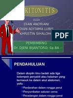 Peritonitis,,