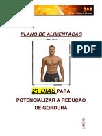 02 - Plano 21dias Alimentação
