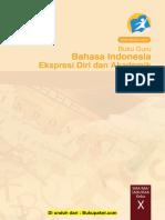 Buku Pegangan Guru Bahasa Indonesia SMA Kelas 10 Kurikulum 2013 Edisi Revisi 2014