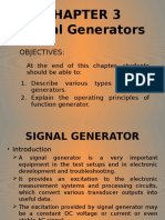 CHAPTER 3 - Signal Generators
