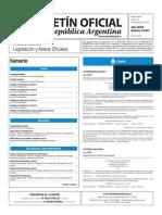 Boletín Oficial de la República Argentina, Número 33.523. 15 de diciembre de 2016