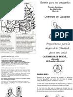 3r Dom Adviento Ciclo A