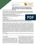 Fibrin-based Biological Adhesives Prevent Anastomotic