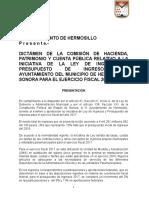 Dictamen de Ley de Ingresos 2017 Completo