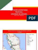 highway billboard proposal 2017