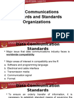 Data Communications Standards by Tomasi