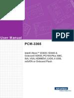 Pcm 3365 Manual