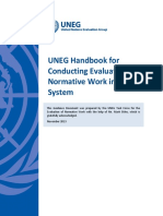 UNEG Handbook for Conducting Evaluations of Normative Work_English_Final