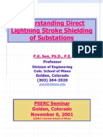 IEEE lightning protection for switch yard