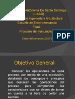 Procesos de Manufactura General