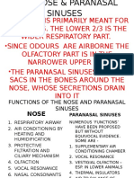 The Nose & Paranasal Sinuses