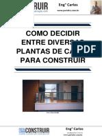 Como Decidir Entre Diversas Plantas de Casas Para Construir