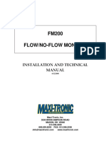 FM200 Installation Manual تركيب نظام Fm200