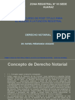 Curso Derecho Notarial - Segunda Unidad