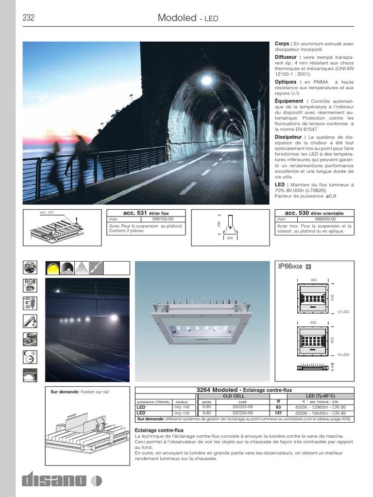 Eclairage Contre Marche Led 232-233 modoled | diode électroluminescente | lumière