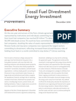 Global Divestment Report 2016