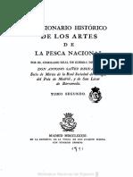 Diccionario historico de los artes de pesca nacional - Antonio Sáñez Reguard. Volumen 2.PDF