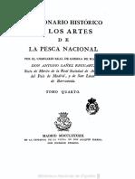 Diccionario historico de los artes de pesca nacional - Antonio Sáñez Reguard.Volumen 4.PDF