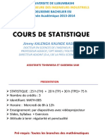 Introductiond Statistique g2 Esi 20132014