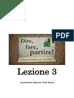 1.Dire fare partire  lezione 3.pdf