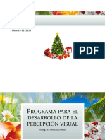 Programa Para El Desarrollo de La Percepción Visual
