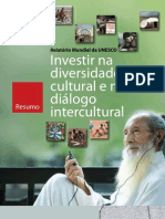 Investir na diversidade cultural e no diálogo intercultural
