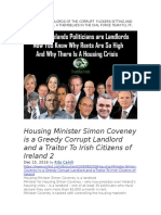 Meet the Td Landlords of the Corrupt Fuckers Sitting and Billing Draft Bill 4 Themselves in the Dial Force Team FG, FF, Ind what a Bunch of Waste bags, Fuck Them out Now