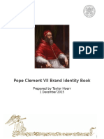 pope clement vii brand identity book