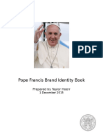 pope francis brand identity book