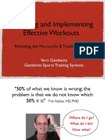 Vern Gambetta Designing and Implementing Effective Workouts