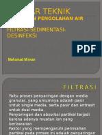 (11) PBPAM Filtrasi Sedimentasi Klorinasi