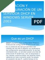 Presentación Solo DHCP
