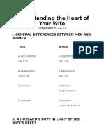 Understanding the Heart of Your Wife