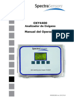 Manual Medidor de Oxigeno Ballena