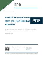 Brazil's Enormous Interest Rate Tax