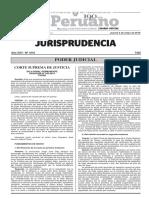Jurisprudencia Nro 1010 05-05-2016 Poder Judicial
